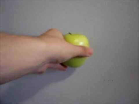 How to touch wall with apple 15 minutes + slow-motion - How To Do Anything TV video
