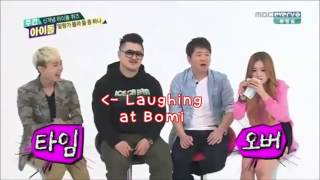 getlinkyoutube.com-Bomi & Ilhoon Hoonmi Weekly Idol Cuts Part 6