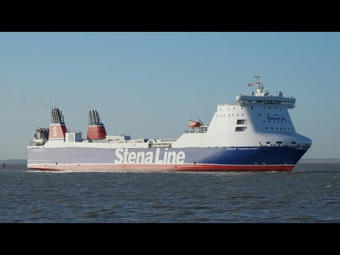 Click to view video STENA FORERUNNER - IMO 9227259 - HARWICH HARBOUR