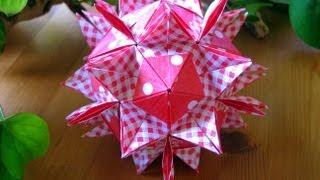 getlinkyoutube.com-Origami ✿ Assol Kusudama ✿