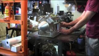 V8 Airplane Airplane Engine - Coles Model V8 - Miniature Working Engine