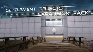 getlinkyoutube.com-Fallout 4 mod - Settlement Objects Expansion Pack by ccmads