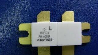 getlinkyoutube.com-F5MAG  BLF278 NXP 1 KW SSPA POWER AMPLIFIER ALL BAND 160M A  6M BAND