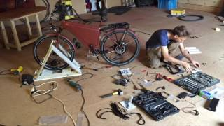 Building an Electric Bicycle from scratch. DIY