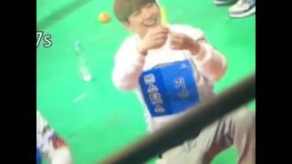 getlinkyoutube.com-MonstaX kihyun Wonho funny moment on iSAC