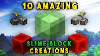 getlinkyoutube.com-10 Amazing Slime Block Redstone Creations In Minecraft