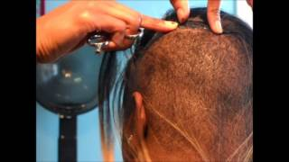 getlinkyoutube.com-Fusion- Illusion Hairline | Invisible Hairline | O