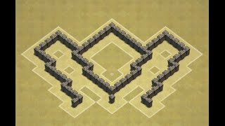 getlinkyoutube.com-TH4 Southern Teaser War Base (Emerging Butterfly) Anti Giant, Barch
