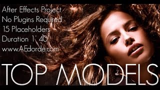 getlinkyoutube.com-TOP MODELS - After Effects Project Template