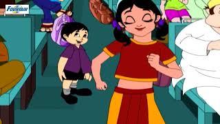 getlinkyoutube.com-Top 20 Marathi Balgeet & Badbad Geete - Chandoba Chandoba Bhaglas Ka | Marathi Kids Songs