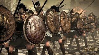 getlinkyoutube.com-ROME 2 - 300 Spartans vs 1000 Romans