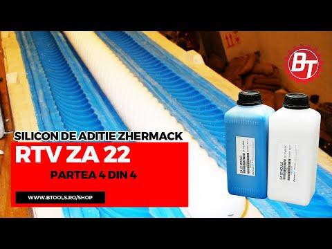 Realizare matrita flexibila din silicon RTV-ZA22-Lumanare de botez-Partea 4 din 4