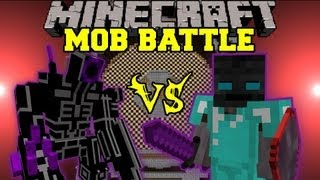 ROBO WARRIOR VS. WALKER KING - Minecraft Mob Battles - Arena Battle - OreSpawn Better Dungeons Mods