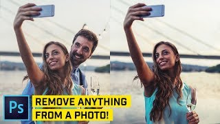 Advanced: Remove ANYTHING from ANY Photo - Photoshop Tutorial