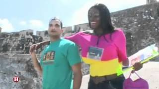 getlinkyoutube.com-Graban escenas de video porno en Castillo de San Felipe en Cartagena