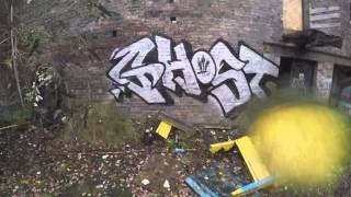 getlinkyoutube.com-Graffiti - Ghost EA - Abandoned Pottery Factory