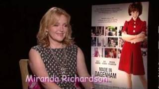 """getlinkyoutube.com-BAFTA Nominee! Miranda Richardson! """"Made in Dagenham""""!- The Stephen Holt Show"""