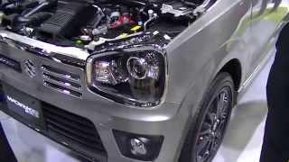 getlinkyoutube.com-新車アルトワークス登場!ベースのターボRSの展示車と見比べてみた!動画
