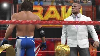 getlinkyoutube.com-WWE 2K17 Story - John Cena Traded To Smackdown?
