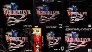 getlinkyoutube.com-Resident Evil 2 - Unique Content Differences (ALL versions) - Lotus Prince