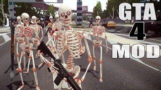 getlinkyoutube.com-Grand Theft Auto IV - The attack of Skeleton [MOD] for GTAIV (60fps)