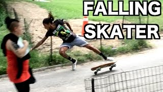 getlinkyoutube.com-FALLING SKATER PRANK IN NYC!! (Gone WRONG)