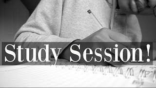 STUDY WITH ME AT UNIVERSITY VLOG | STUDY SESSION 2016
