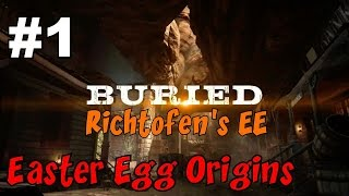 getlinkyoutube.com-END GAME ON BURIED!▐ CoD Zombies EE ORIGINS - BURIED: Richtofen's Side! (Part 1)
