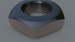 getlinkyoutube.com-CINEMA 4D Basic Modeling : Bolt Shape