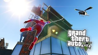 getlinkyoutube.com-GTA 5 PC Mods - SPIDERMAN MOD w/ GRAPPLING HOOK! GTA 5 Spiderman Mod Gameplay! (GTA 5 Mods Gameplay)