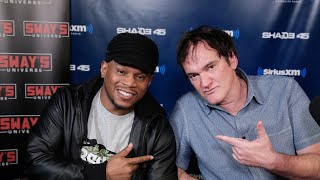 getlinkyoutube.com-Quentin Tarantino Fires Back About Black Lives Matter and Police Protests  on Sway in the Morning