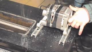 getlinkyoutube.com-Циркулярка своими руками/Как сделать циркулярку из двигателя со стиральной машинки автомат