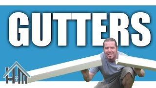getlinkyoutube.com-How to install replace gutters by yourself. Easy! Home Mender.