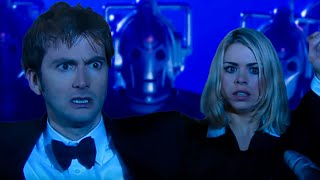 getlinkyoutube.com-Surrounded By The Cybermen - Rise of the Cybermen - Doctor Who - BBC