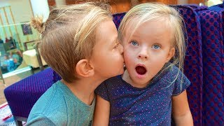 A BOY KISSED ME! 😯 I'M TELLING MOM!