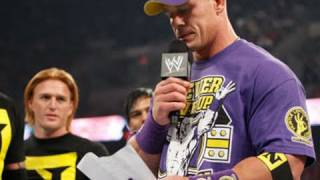 getlinkyoutube.com-Raw: Wade Barrett officially welcomes John Cena to The Nexus