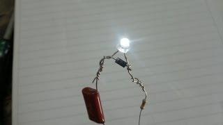 getlinkyoutube.com-Como Encender 1 Leds con 220 Voltios!