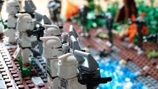 getlinkyoutube.com-LEGO Star Wars Rebels HUGE Clone Base with Battle LEGO HOUSE (MOC)