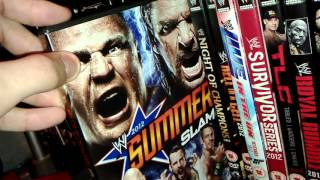 getlinkyoutube.com-WWE DVD Collection update 20/12/15