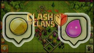 getlinkyoutube.com-Clash of Clans Layout Protege Recursos CV 3  Teste