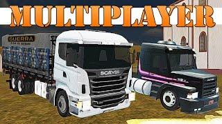 Como Jogar Grand Truck Simulator Multiplayer (Online) + Meu Servidor