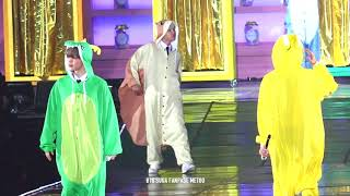 180114 BTS Animal Fashion Show funny @ BTS 4th Muster