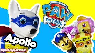 getlinkyoutube.com-PAW PATROL APOLLO The New Paw Patrol Toy Plays Paw Patrol Pups in Slime Dream by Epic Toy Channel