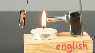 Curie Pendulum. How to Make a Heat Engine.
