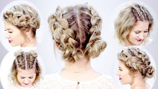 getlinkyoutube.com-5 DOUBLE DUTCH BRAIDED HAIRSTYLES FOR SHORT HAIR   Milbau