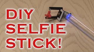 DIY Selfie Stick for camera or GoPro!