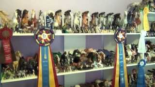 getlinkyoutube.com-Collection Tour of Stormy's Traditional Sized Model Horses as of 08/28/13