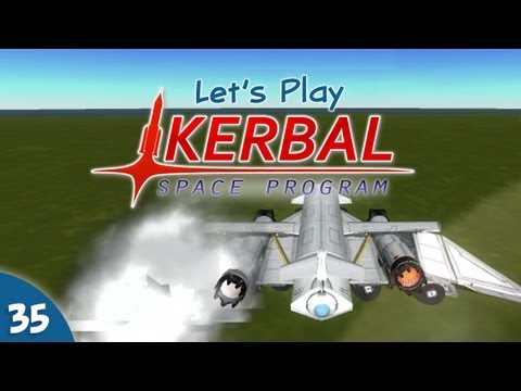 "Kerbal Space Program - #035 - Polar ""Rescue"" Mission"