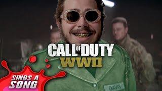 Rockstar Parody - Post Malone Calls in Sick to play COD WW2