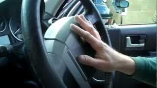 getlinkyoutube.com-How to change the steering wheel on Land Rover Discovery 3/ LR3